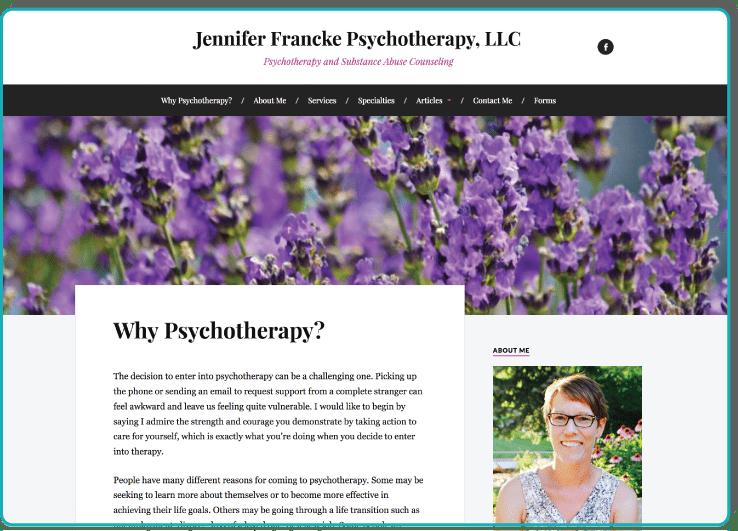 http://www.jenniferfranckepsychotherapy.com/