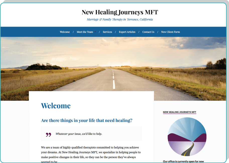 New Healing Journeys MFT